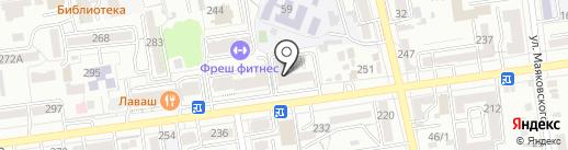 Ставропольская академия невест на карте Ставрополя