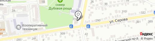 Романтик на карте Ставрополя