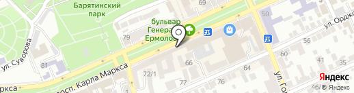 Косметик-Профи на карте Ставрополя
