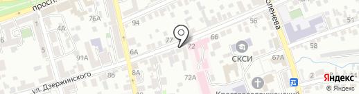 Артпромо на карте Ставрополя