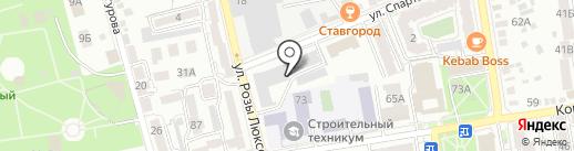 Корея на карте Ставрополя