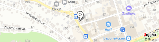 Компания юридических и фотоуслуг на карте Ставрополя
