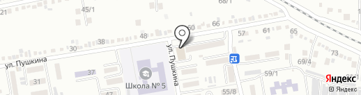 Почтовое отделение №4 на карте Михайловска
