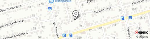 Новые Технологии на карте Ставрополя