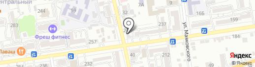 Вальс Цветов на карте Ставрополя