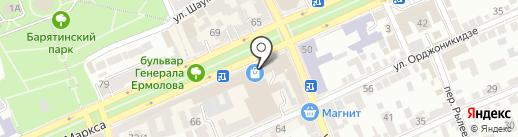 Модная Волна на карте Ставрополя