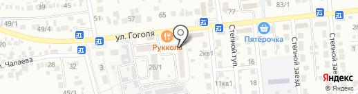 Почтовое отделение №5 на карте Михайловска