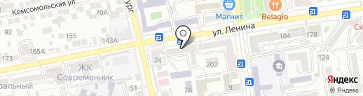 Время Обедать на карте Ставрополя