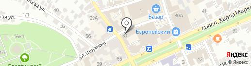 Благо на карте Ставрополя