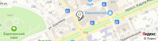 78 на карте Ставрополя