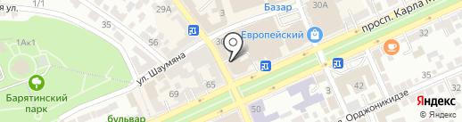 Зам-Зам на карте Ставрополя