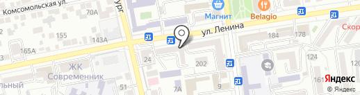 Virgi-style на карте Ставрополя