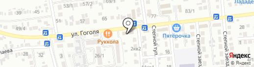 AST на карте Михайловска