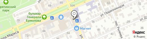 ПРОФИ-М на карте Ставрополя