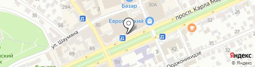 Paint Holliday на карте Ставрополя
