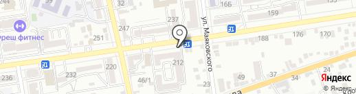 ЗА СТРАХОМ на карте Ставрополя