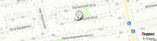 МОТОР-26 на карте Ставрополя