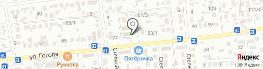 Брокер Сити на карте Михайловска