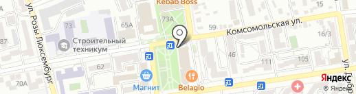FlyDance на карте Ставрополя
