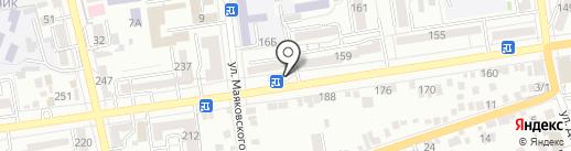 Магазин овощей и фруктов на карте Ставрополя