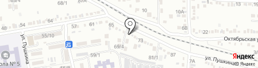 Норма на карте Михайловска