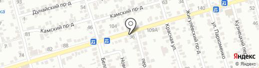 Визит на карте Ставрополя