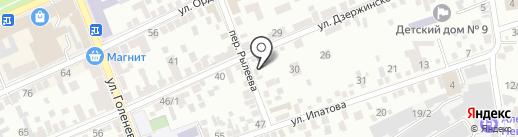 Магазин виниловых пленок на карте Ставрополя