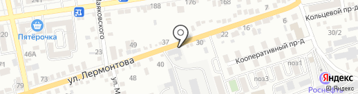 СВО Ива на карте Ставрополя