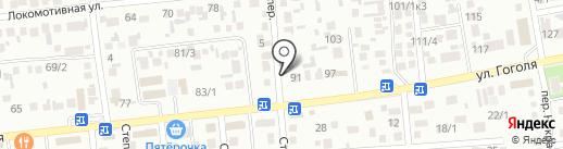 Велес на карте Михайловска