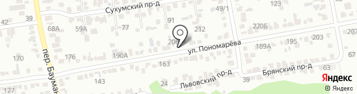 Светлана на карте Ставрополя