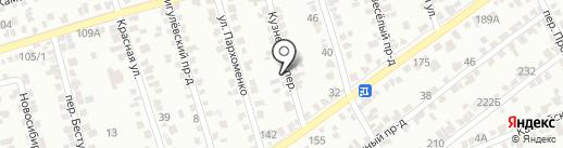 Компания по заказу мини-экскаваторов на карте Ставрополя