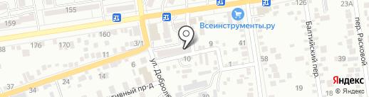 Три Поросёнка на карте Ставрополя