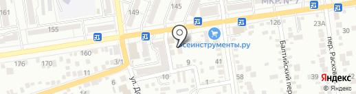 Дорожное Право на карте Ставрополя