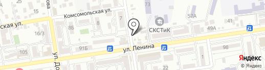 Гиро Хаус на карте Ставрополя