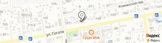 Яна на карте Михайловска