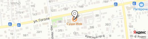 Helix на карте Михайловска