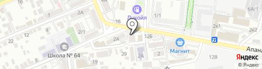 Центр безопасности вождения, ЧУ ДПО на карте Ставрополя