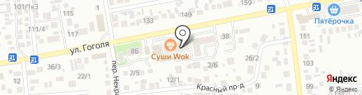 Воин26 на карте Михайловска