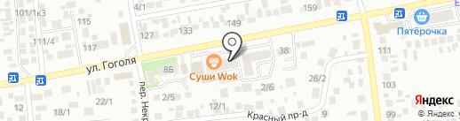 CITY на карте Михайловска
