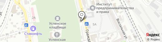 ЭКСПЕРТТЕЛЕКОМ на карте Ставрополя