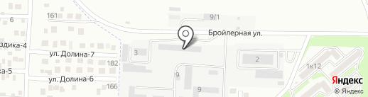 Столярный цех на карте Михайловска