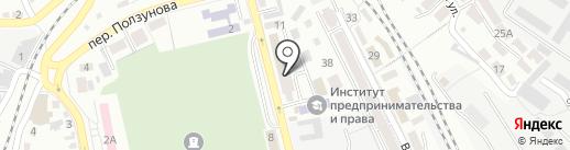 Мастерская художественной ковки на карте Ставрополя