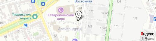 Промтехэкспертиза на карте Ставрополя