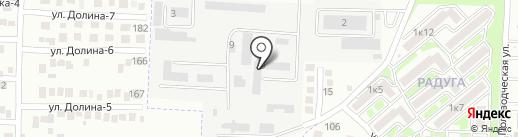 Контур на карте Михайловска