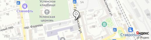 Удачная техника на карте Ставрополя