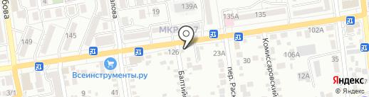 Табачная лавка №1 на карте Ставрополя