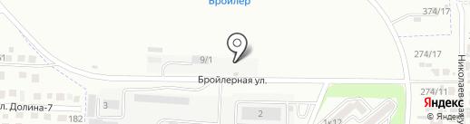 Компания по продаже цемента на карте Михайловска