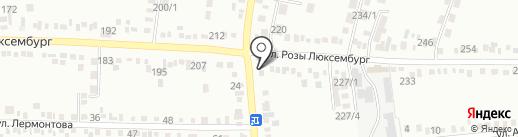 Мама на карте Михайловска