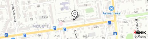 ParkVideo на карте Ставрополя