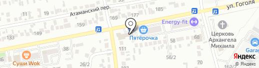 Шоколад на карте Михайловска